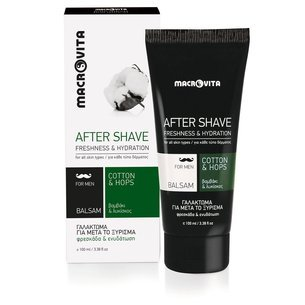 MACROVITA AFTER SHAVE BALM cotton & hop 100ml