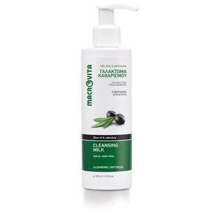 MACROVITA CLEANSING MILK olive oil & calendula 200ml