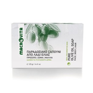 MACROVITA TRADITIONAL GREEN SOAP 125g
