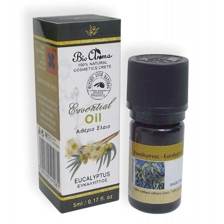 BioAroma EUCALYPTUS essential oil 100% natural 5ml