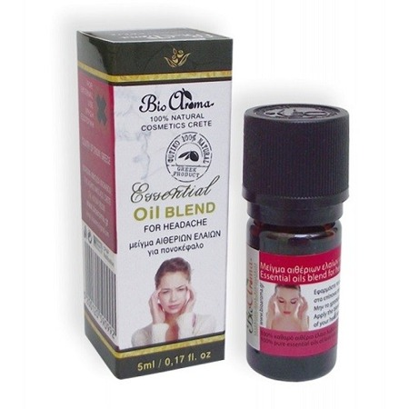 BioAroma essential oils blend for headache 100% natural 5ml