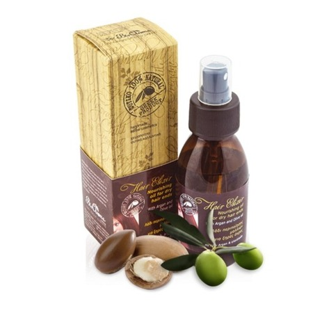 BioAroma nourishing hair elixir with argan and olive oil 100% natural