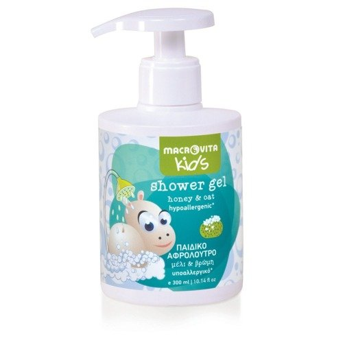 MACROVITA KIDS shower gel for kids honey & oat 300ml