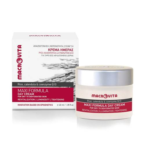 MACROVITA MAXI FORMULA natural day cream for dry to dehydrated skin 40ml