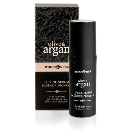 MACROVITA OLIVE & ARGAN LIFTING SERUM face - neck - decolette - all skin types 30ml