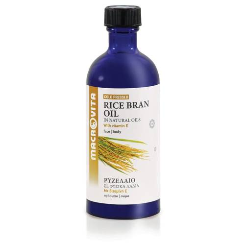 MACROVITA RICE BRAN OIL in natural oils with vitamin E 100ml