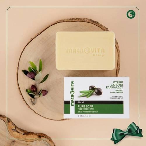 MACROVITA TRADITIONAL GREEN SOAP 125g