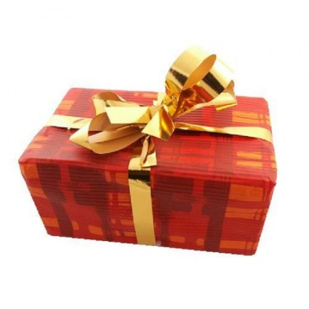 Packing for a gift with a ribbon (one for product or for group of products)