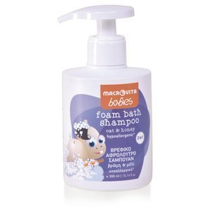 MACROVITA BABIES foam bath-shampoo 2in1 oat & honey 300ml