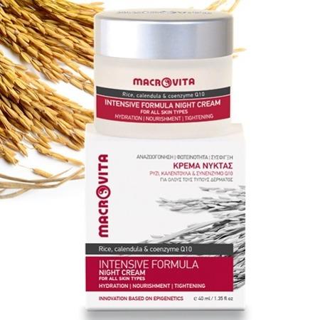 MACROVITA INTENSIVE FORMULA natürliche Nachtcreme für alle Hauttypen 40ml