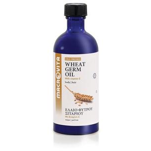 MACROVITA OLEJ Z KIEŁKÓW PSZENICY w naturalnych olejach tłoczony na zimno z witaminą E 100ml