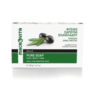 MACROVITA tradycyjne zielone mydełko naturalne z oliwą z oliwek 125g