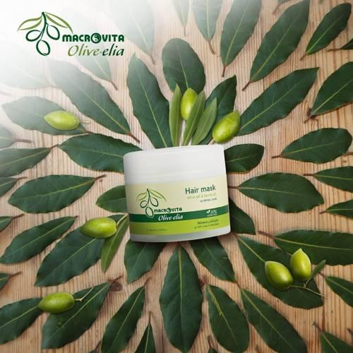 MACROVITA OLIVE-ELIA odżywcza maska do włosów intensywnie regenerująca z bio-składnikami 200ml